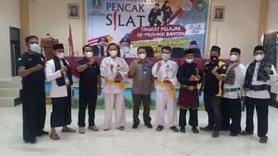 Pelajar Kota Tangerang Berjaya pada Kejurda Pencak Silat se Banten