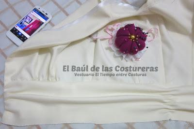 Confección chaqueta kaftán Aris Agoriuq de El Tiempo entre Costuras cuerpo superior terminado