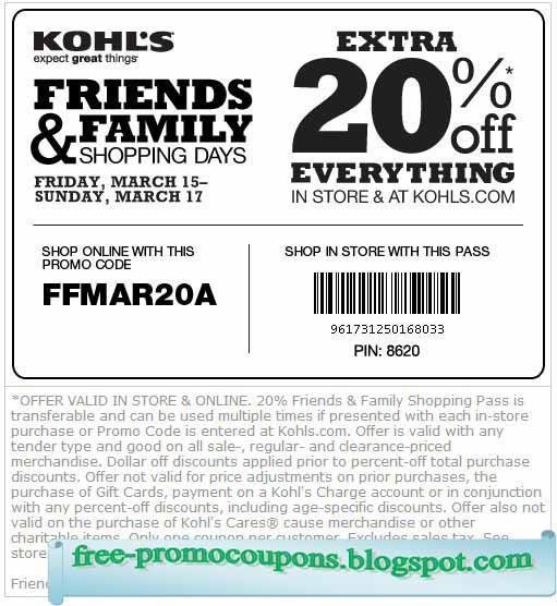 Stack the coupons and save 15% for signing up for the newsletter, or mobile sales alerts, 25%, discount if you apply for Kohl's charge. More Info» Coupons up to 30% off may be found on our coupon page and by signing up to their newsletter.