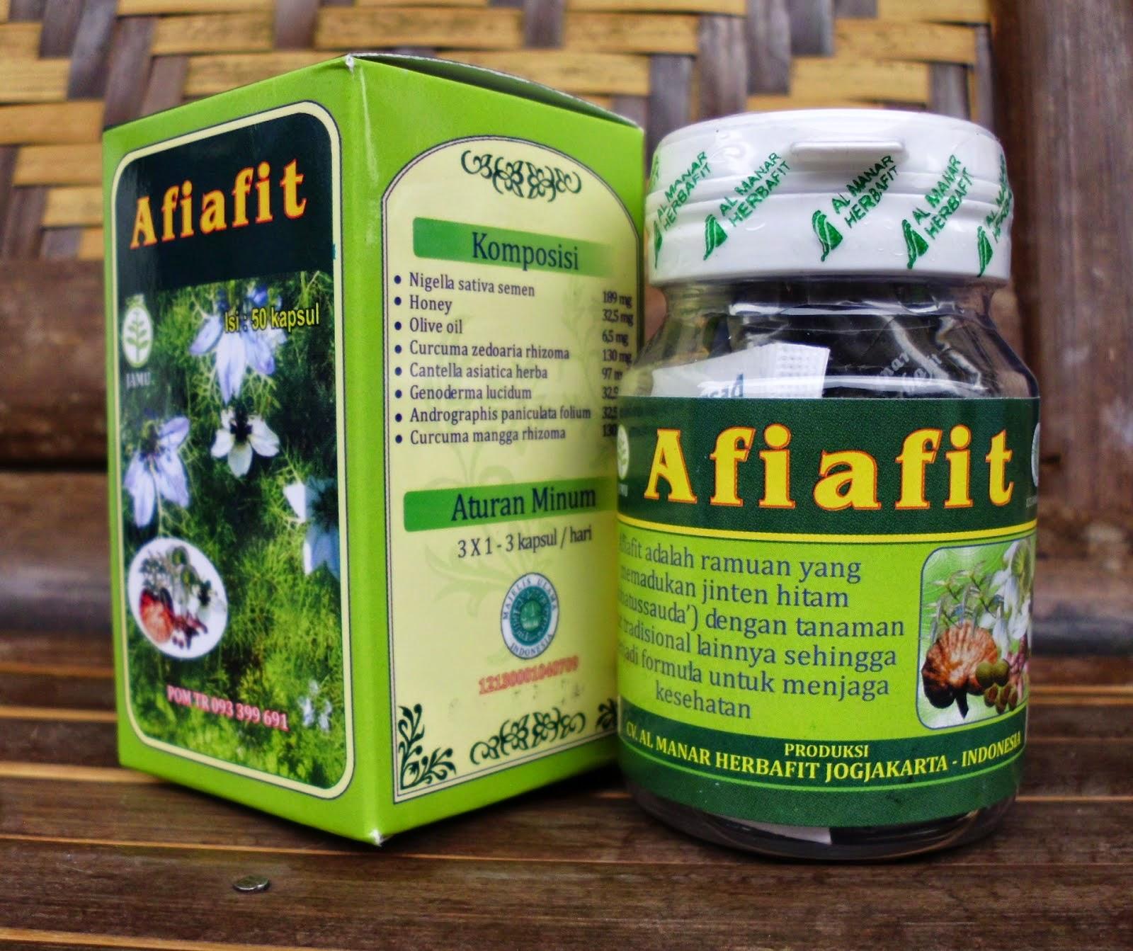 Afiafit Hijau, Herbal Beragam Manfaat