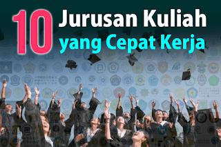 10 Jurusan Kuliah yang Paling Mudah Kerja