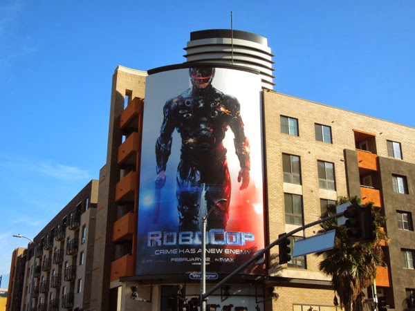 Robocop 2014 movie billboard