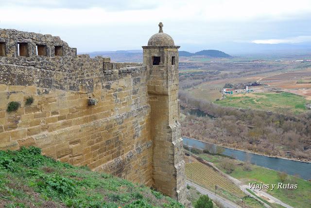 Castillo de San Vicente de la Sonsierra. La Rioja