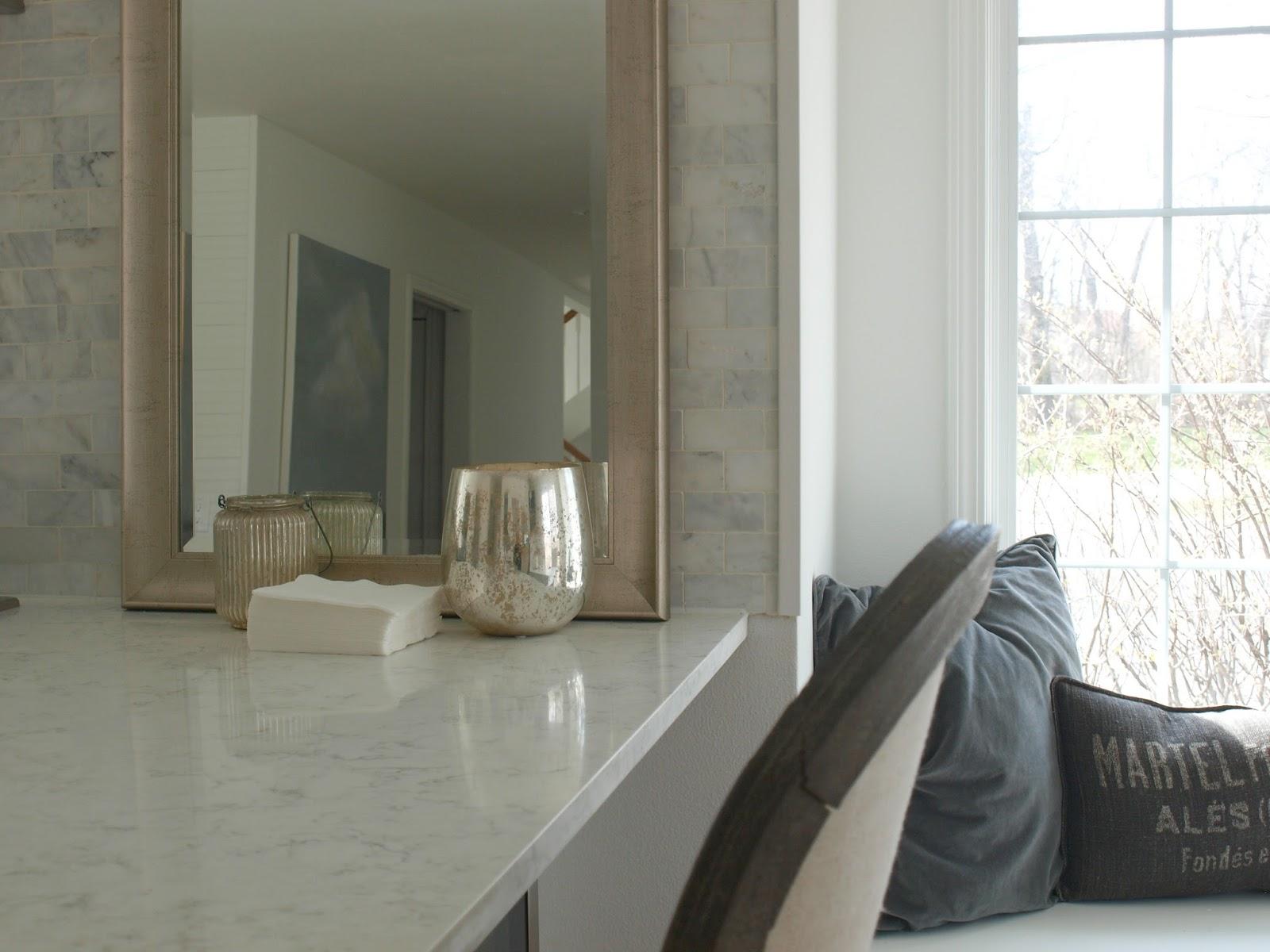 White kitchen in Hello Lovely Studio Fixer Upper