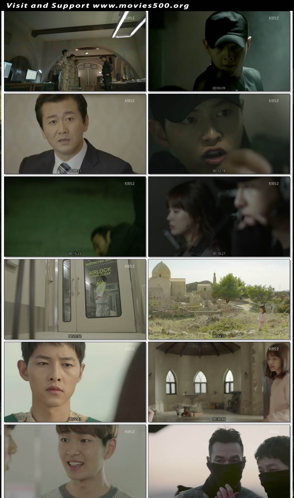 Descendants of the Sun 2016 S01E12 In Hindi Download at movies500.me