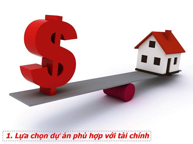 Mua chung cư nên lựa chọn dự án phù hợp với tài chính của gia đình