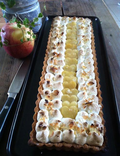 "alt=""tarte pomme meringuée de C. Felder"""