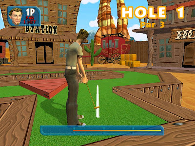 Crazy Golf World Tour (PS2) 2005