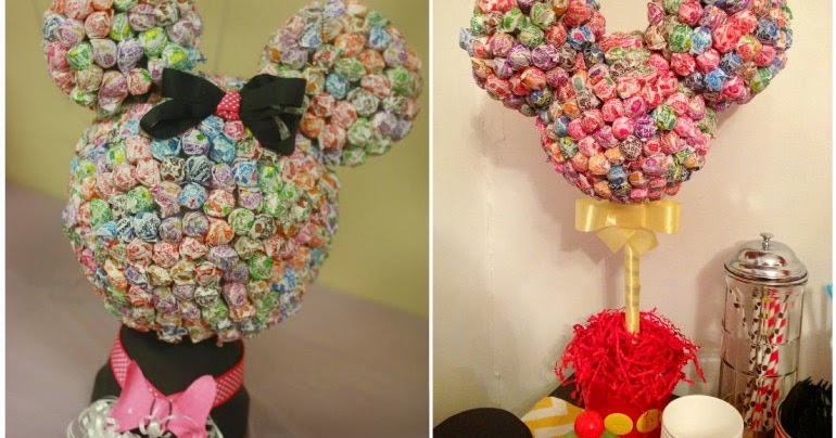 Minnie Mouse Frame Lollipop Tree Diy Wwwimagessurecom