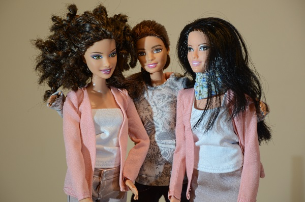 Hoodie and cardigans for Barbie dolls.