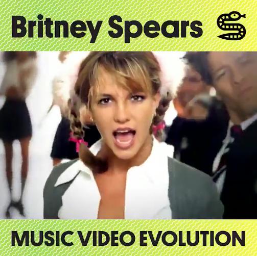 Music Video Evolution Of Britney Spears