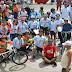 Hemocentro realiza passeio ciclístico no Dia Nacional do Doador de Sangue