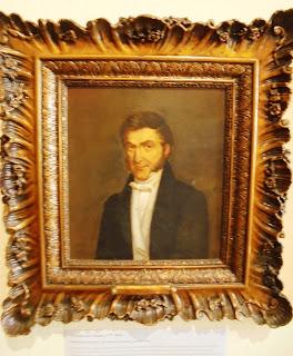 προσωπογραφία του Κωνσταντίνου Κούμα στο Μουσείο του Πανεπιστημίου Αθηνών