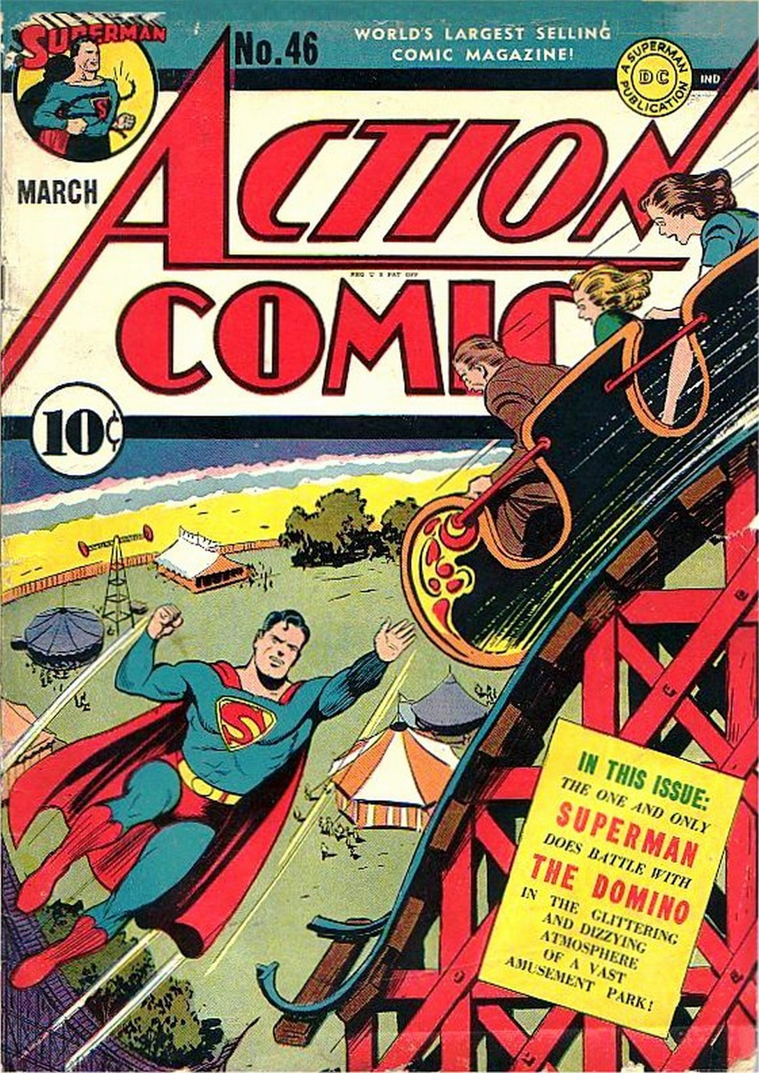 Read online Action Comics (1938) comic -  Issue #46 - 1