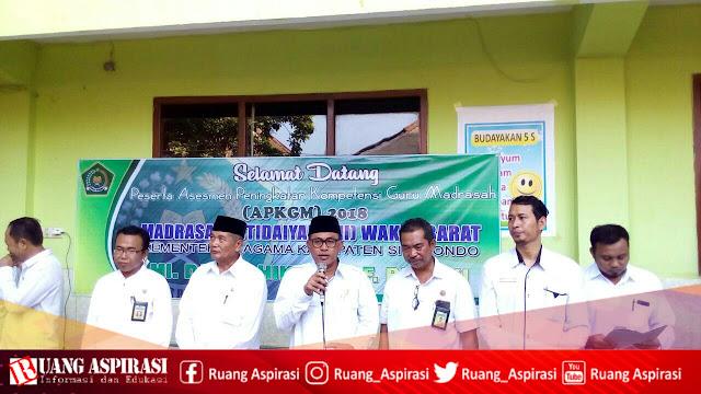 Pelaksanaan APKGMI Wilker Barat Kementerian Agama Kabupaten Situbondo