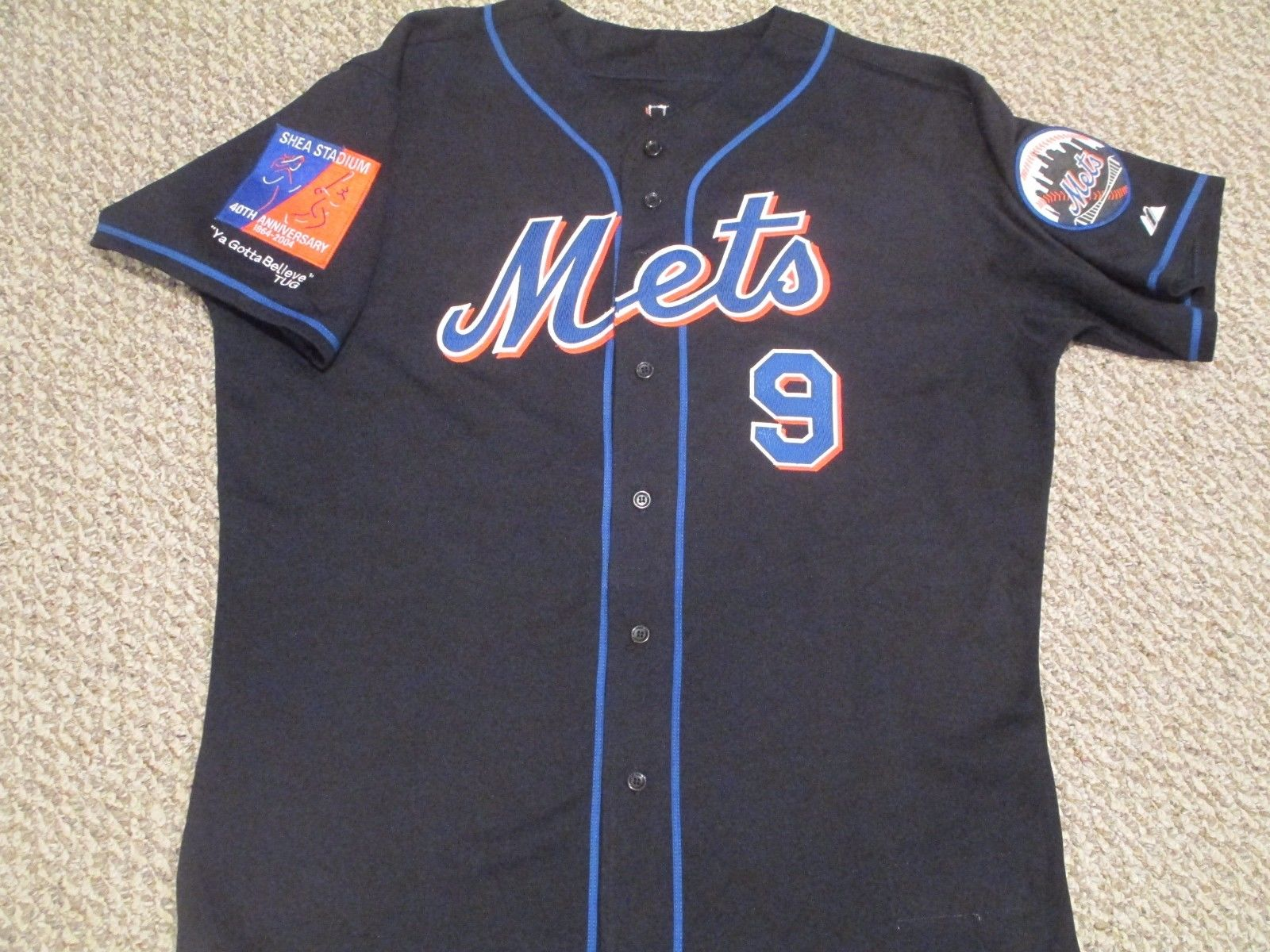 the latest 477fa dad98 TheMediagoon.com: Ty Wigginton 2004 Game Used Mets Jersey
