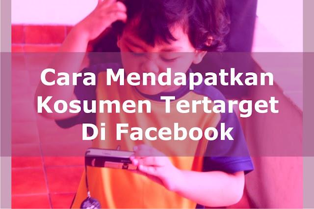 Konsumen Tertarget Fb