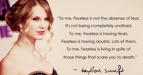 Fearless Taylor Swift Quote: Forever Changed: Quotes