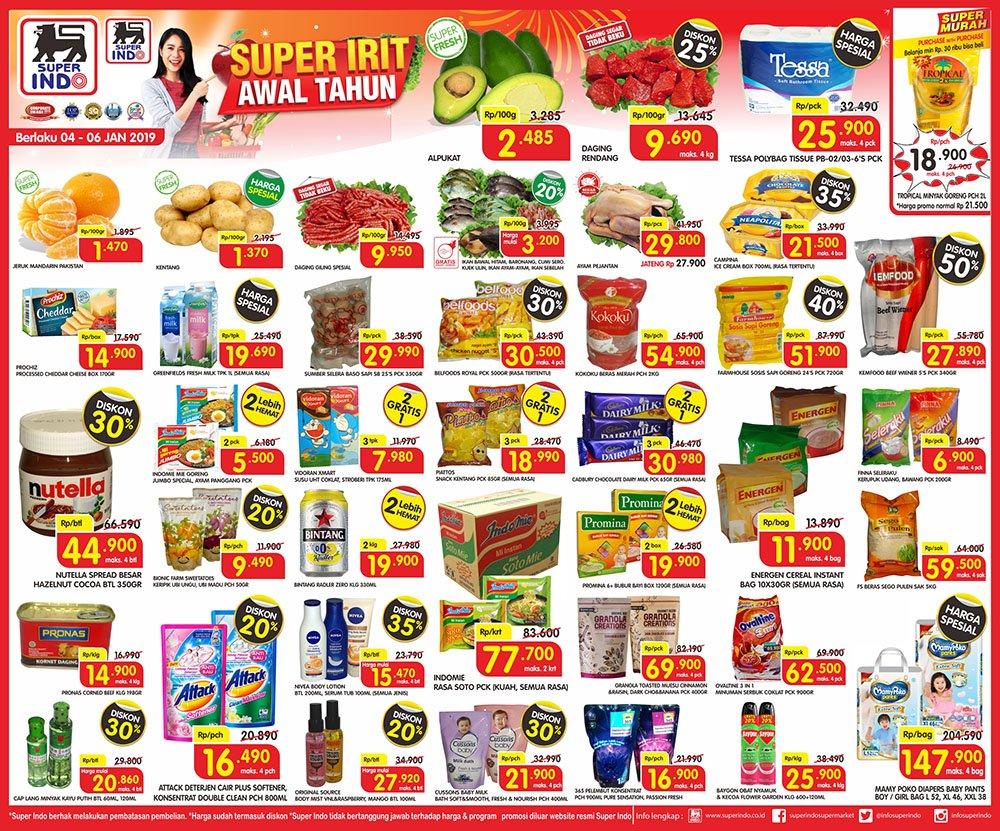 #Superindo - Promo Katalog JSM Periode 04 - 06 Januari 2019