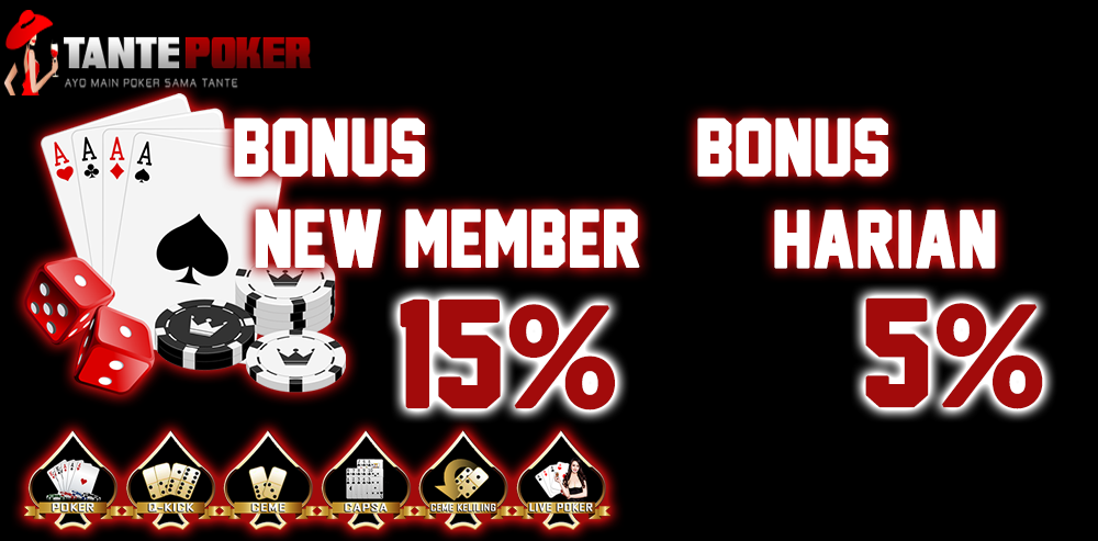 Tantepoker Situs Judi Online Poker Terpercaya Banyak Bonusnya