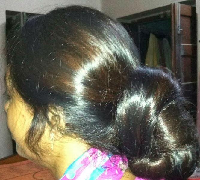 Hair Care And Beauty Tips: Indian Long Hair Buns