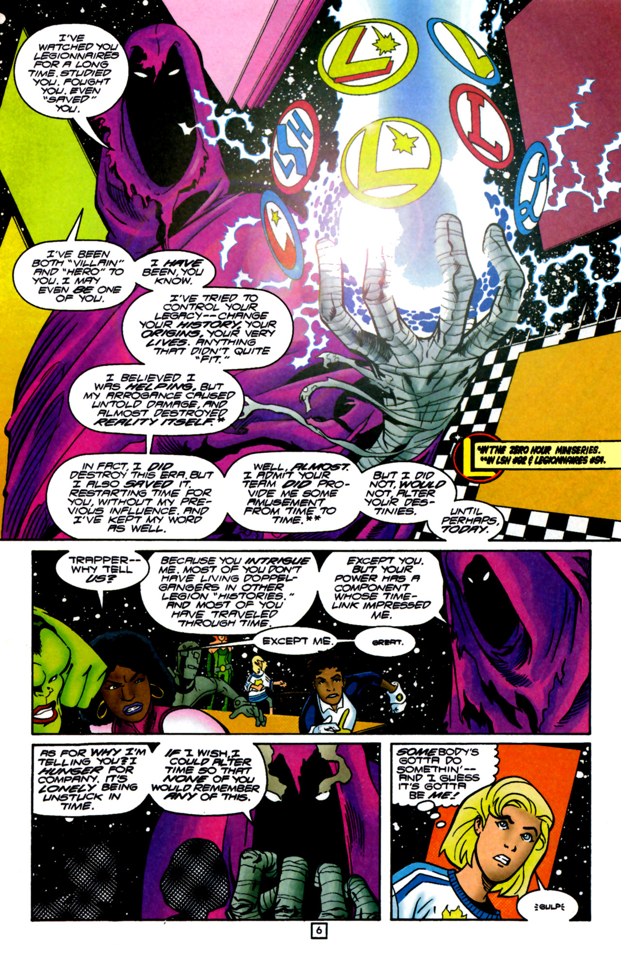 Legion of Super-Heroes (1989) 105 Page 5