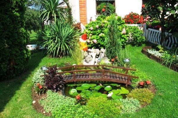 Foto Taman untuk Rumah Mewah