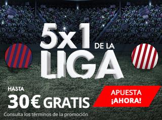 suertia consigue hasta 30 euros gratis ganes o pierdas Barcelona vs Sevilla 4 noviembre