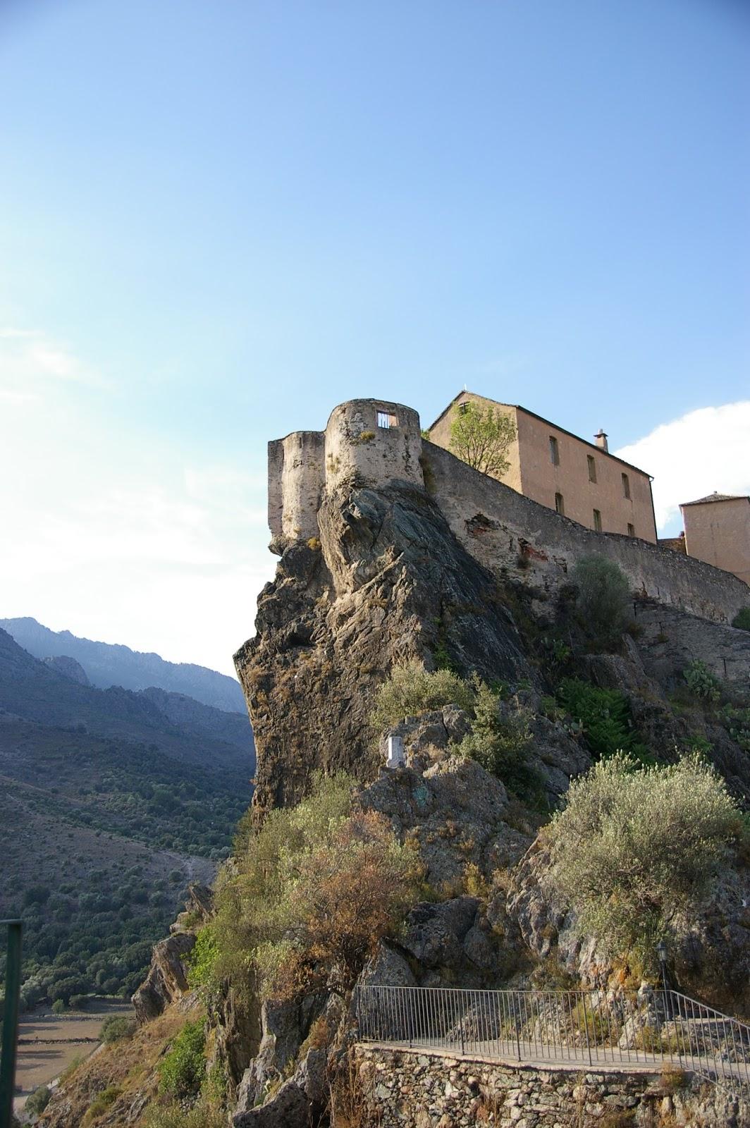Korsyka Corte cytadela