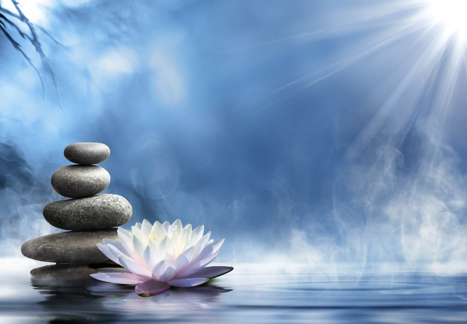 zen relaxation backgrounds blue zen