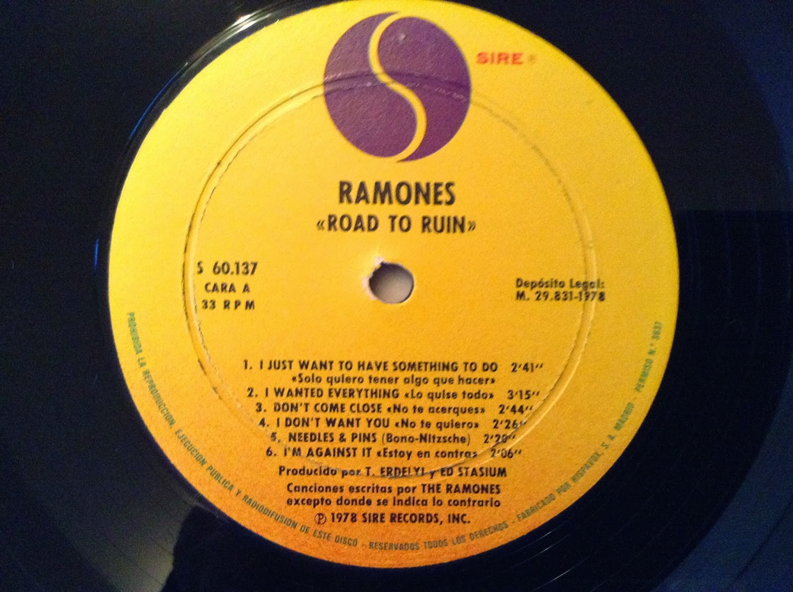 Ramones On Vinyl