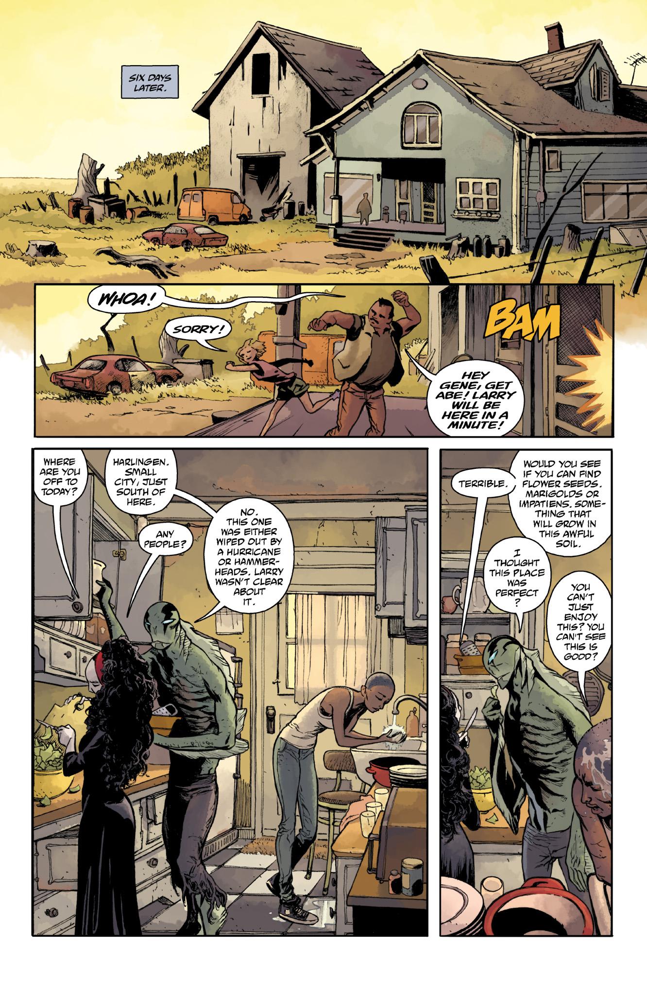 Read online Abe Sapien comic -  Issue #18 - 6