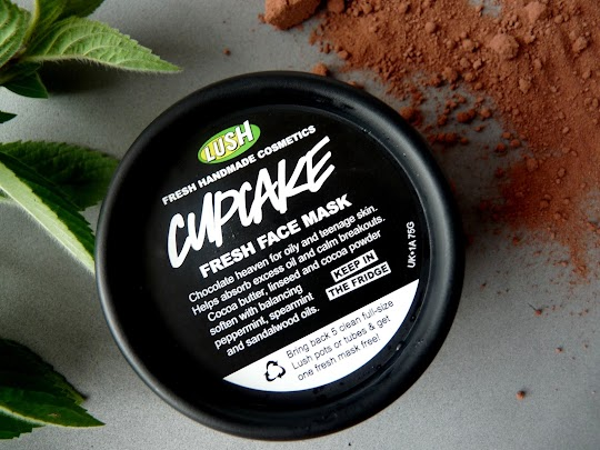 Lush Fresh Face Mask Cupcake