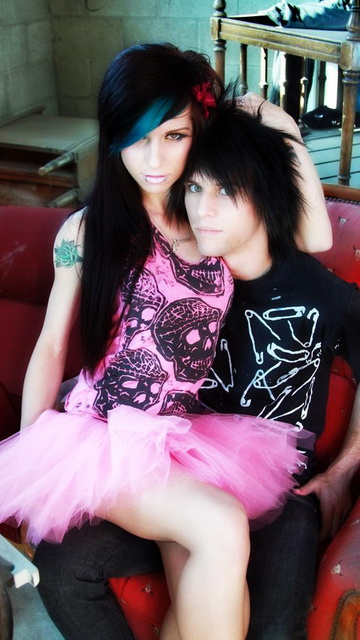 Cute Couple Emo Wallpapers Emo Wallpapers Emo Love Wallpapers Love Emo Wallpapers