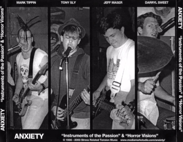 Anxiety, with Tony Sly on vocals (pre-No Use For A Name)