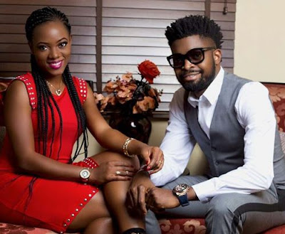 Basketmouth's wife knocks single ladies waiting for marriage to crash & move in