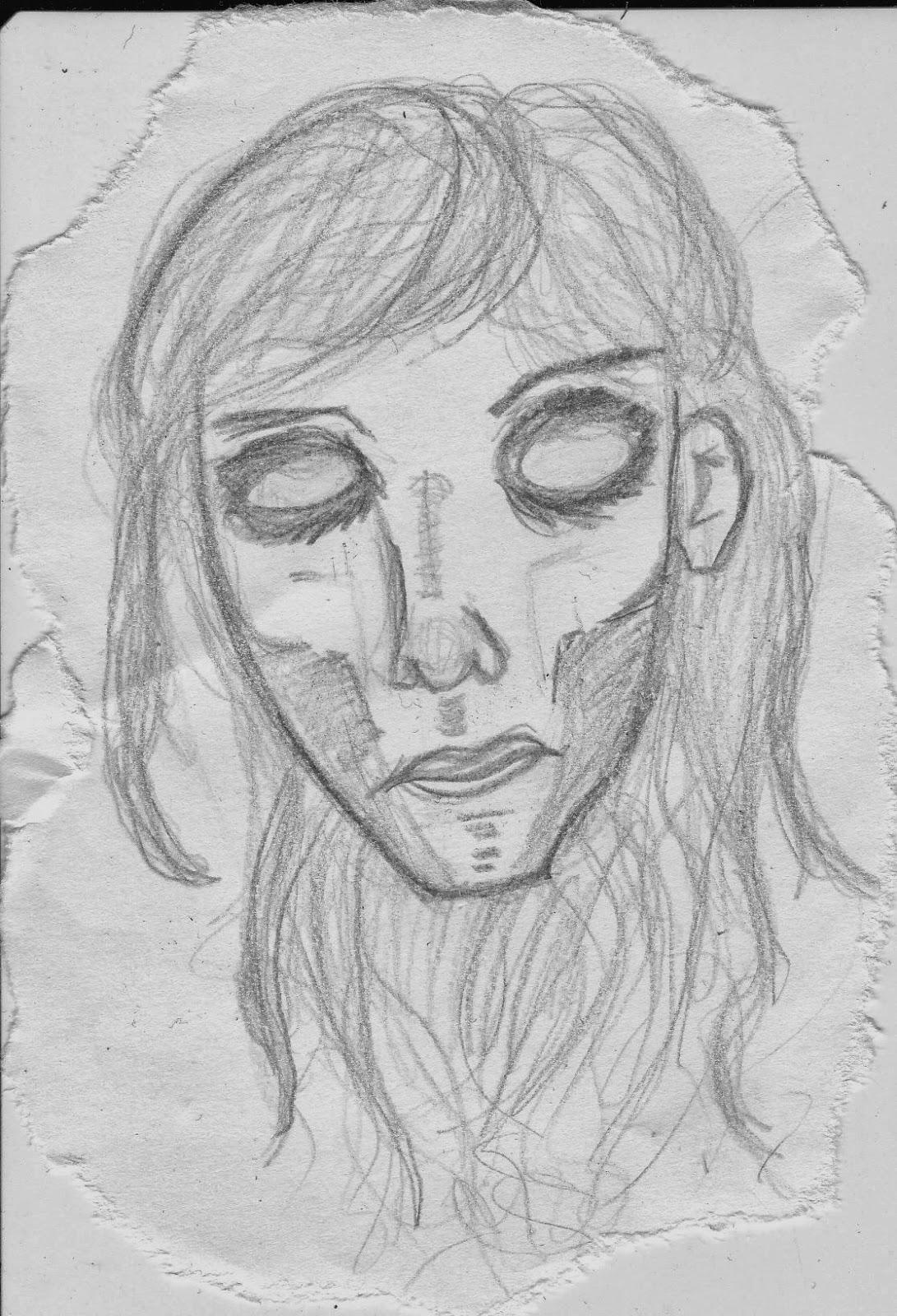 16-årige Nina har aldrig lært at tegne, men tegner som en