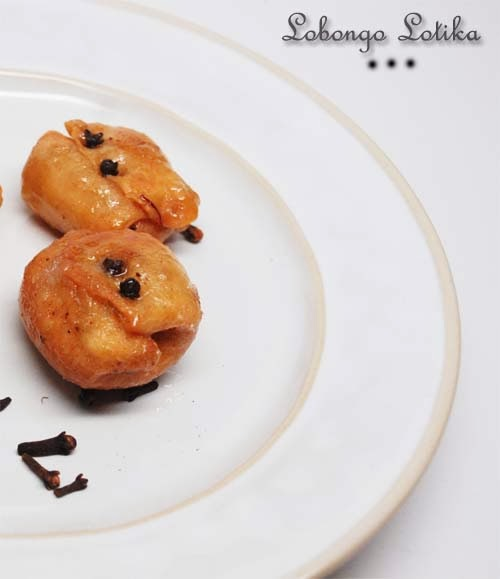 Lobongo Lotika -- a Bengali traditional sweet, Labanga Lotika