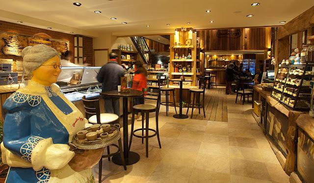 Lojas de chocolate em Bariloche