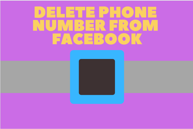 Delete Phone Number From Facebook