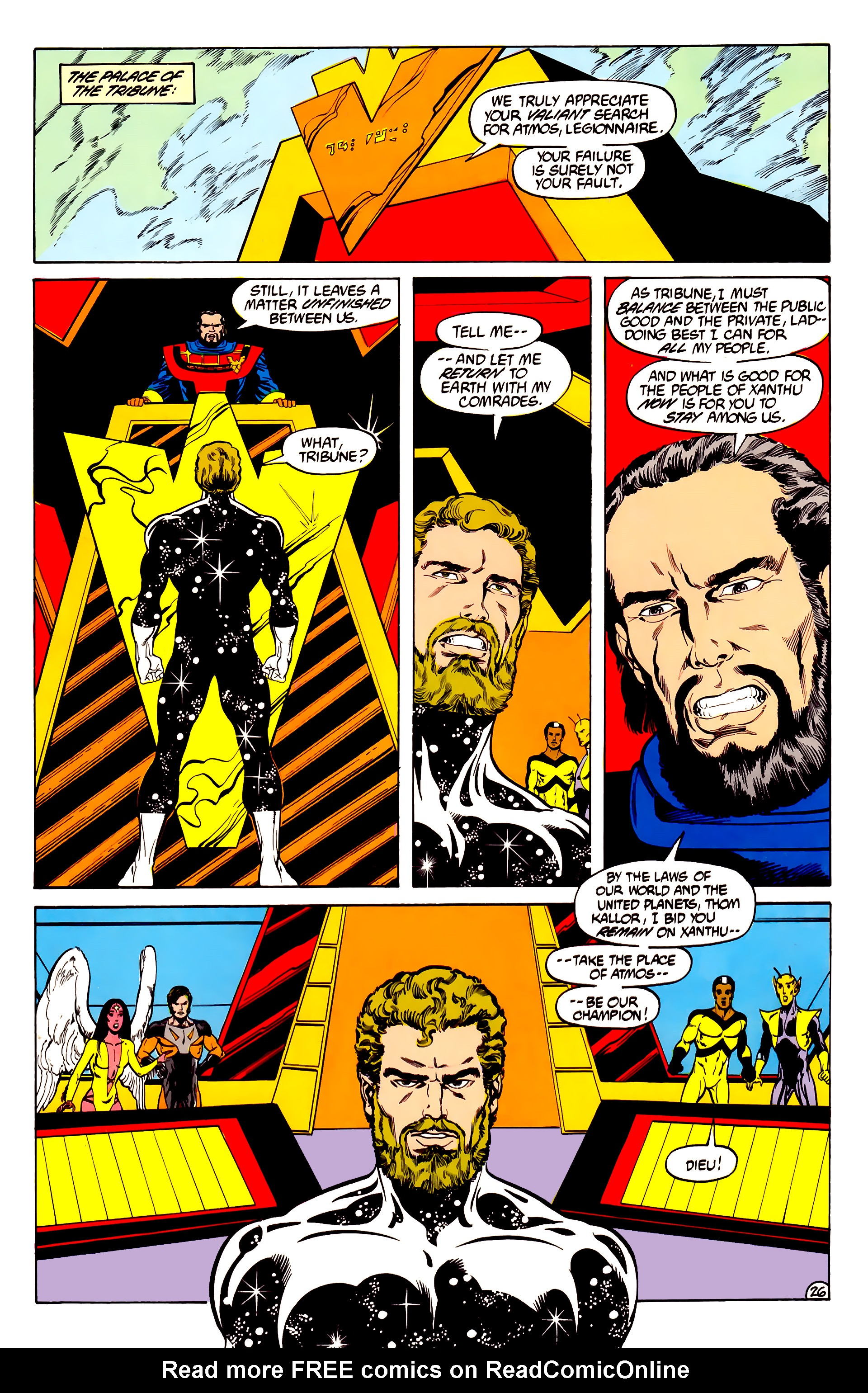 Legion of Super-Heroes (1984) 28 Page 27