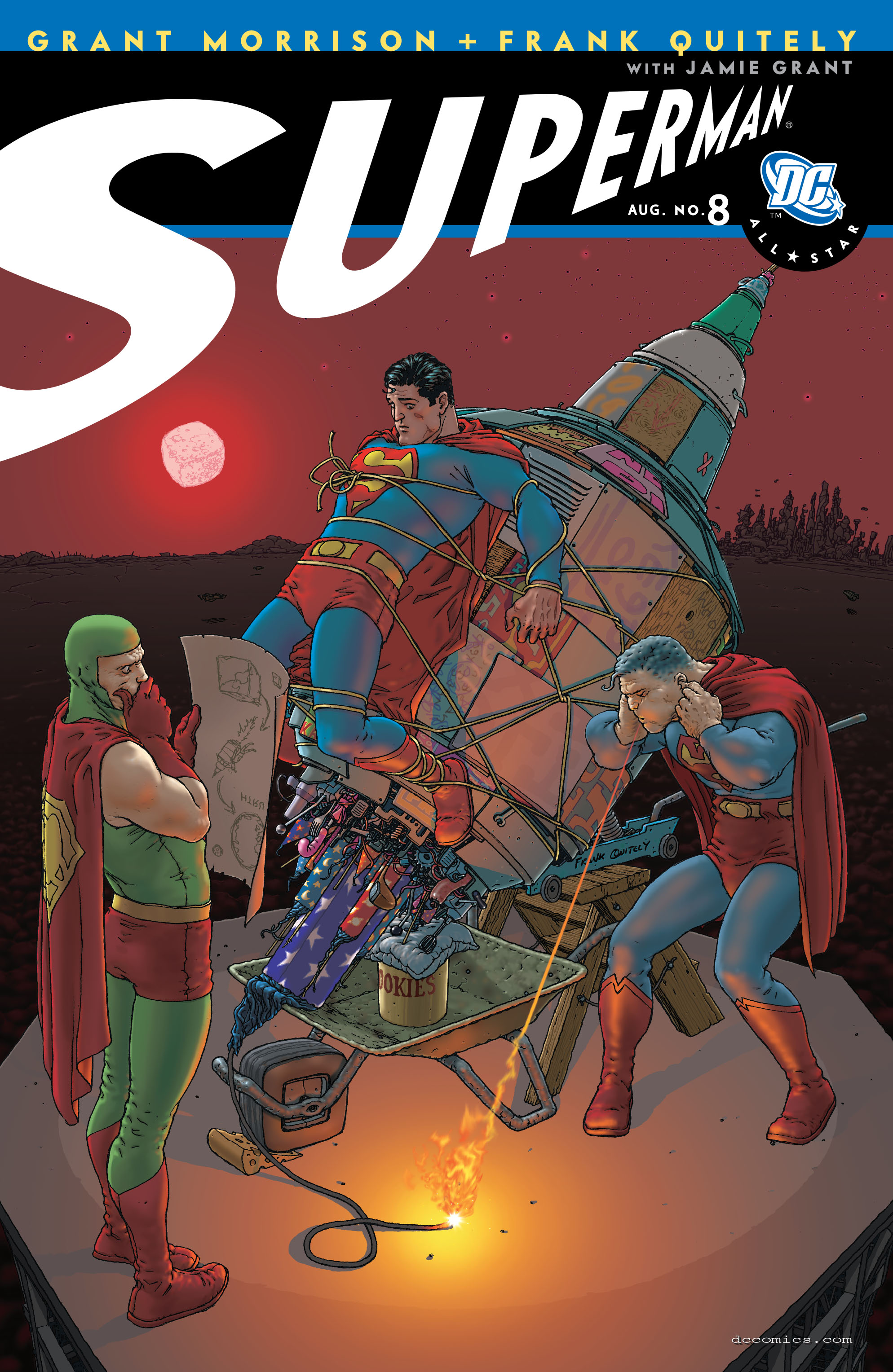 All Star Superman 8 Page 1