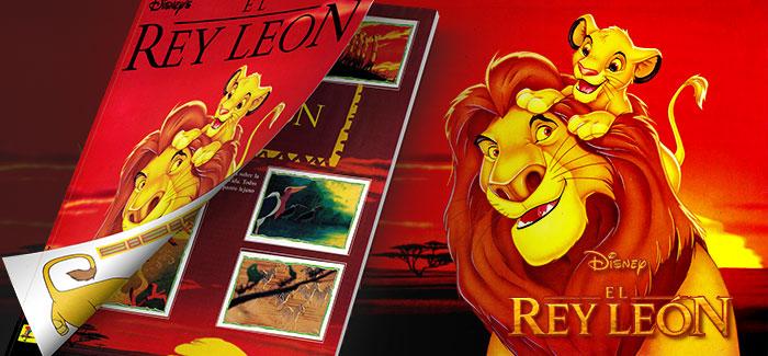 Álbum de cromos El Rey León Panini 1995