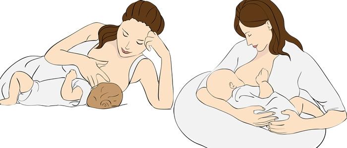 mãe amamentando o bebê ilustração