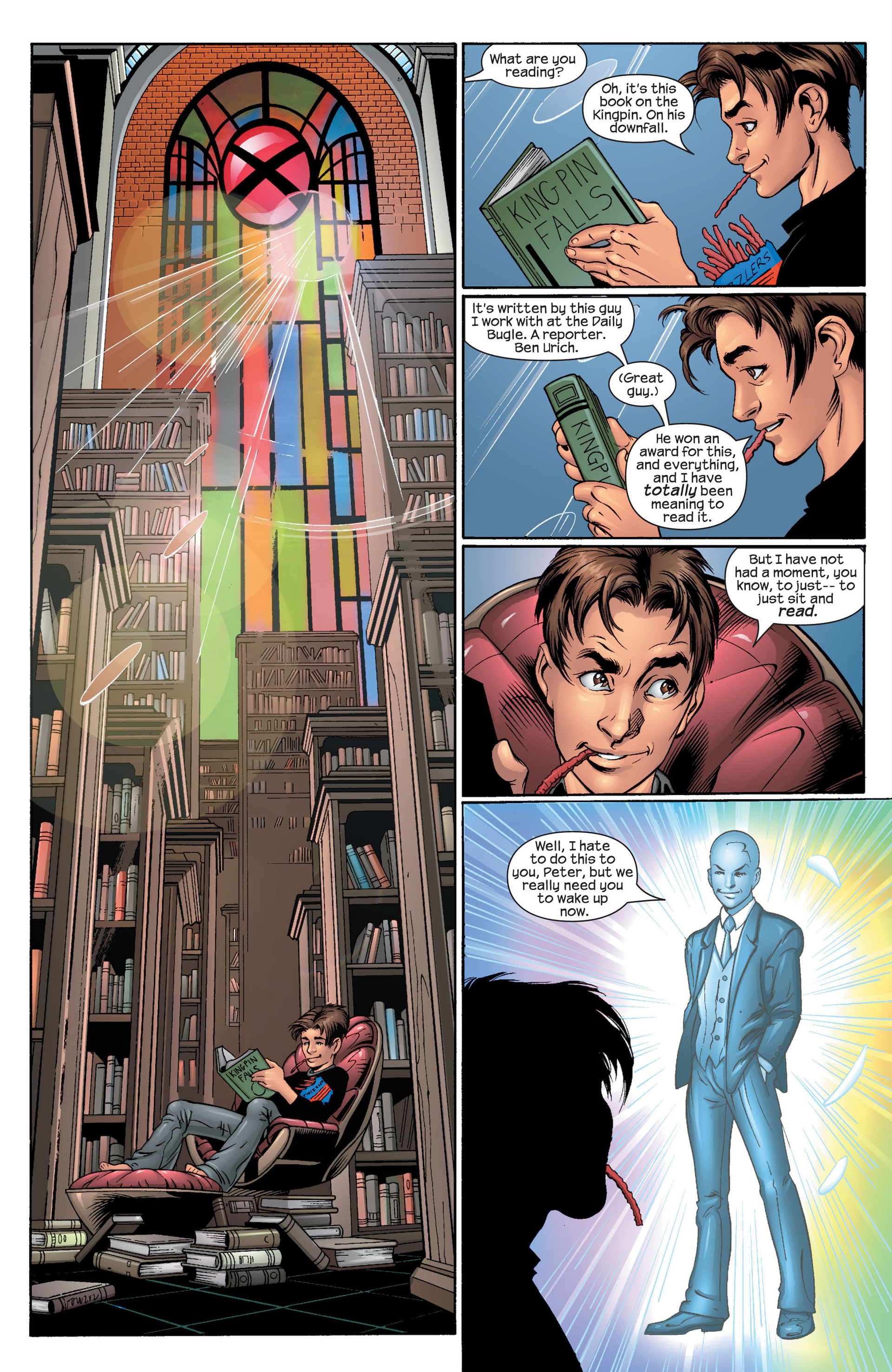 Read online Ultimate Spider-Man (2000) comic -  Issue #44 - 6