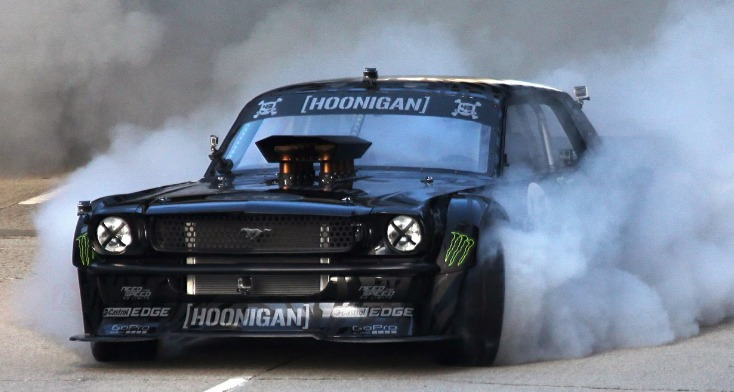 Ken Block Mustang Drift