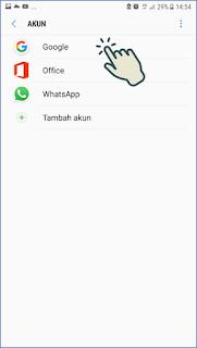 Cara Keluar akun Gmail di Android 4