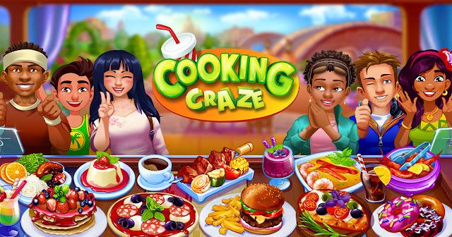 Cooking Craze: Crazy, Fast Restaurant Kitchen Game v1.36.0 MOD