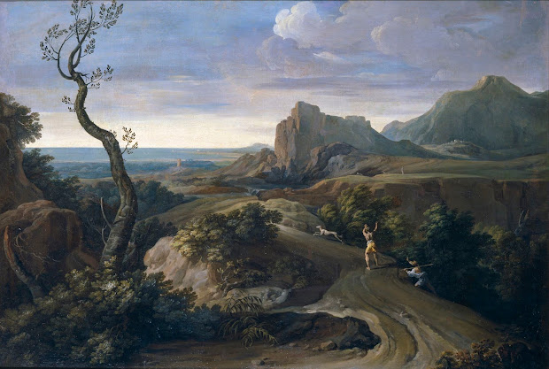 Spencer Alley European Landscape Paintings - 18th Century