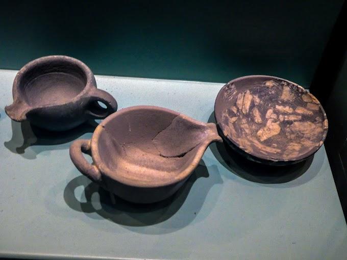 Μινωικά λίθινα αγγεία και σκεύη στη Μινωική Κρήτη με κατεργασία πράσινου πορφυρίτη από την Λακωνία